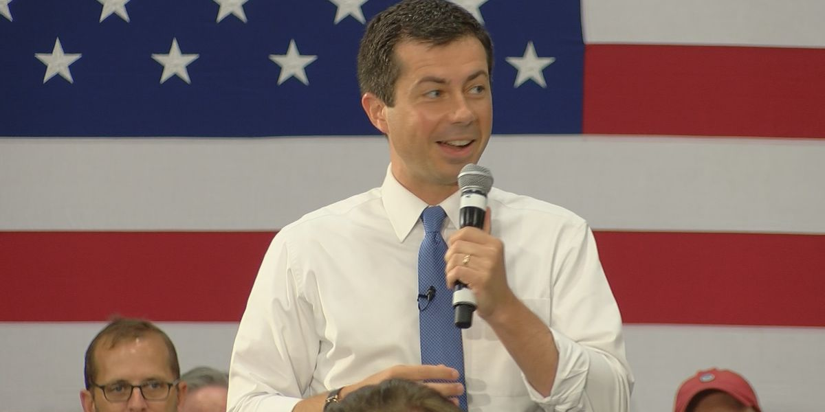 Pete Buttigieg campaigns in the Lowcountry