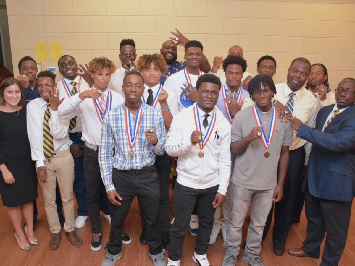 Bethesda track and field team wins 13 state championship rings