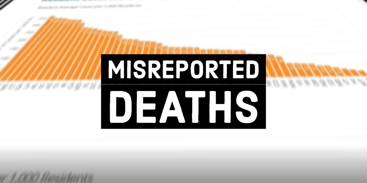Misreported Deaths: Government count of nursing home COVID-19 cases still inaccurate despite criticism