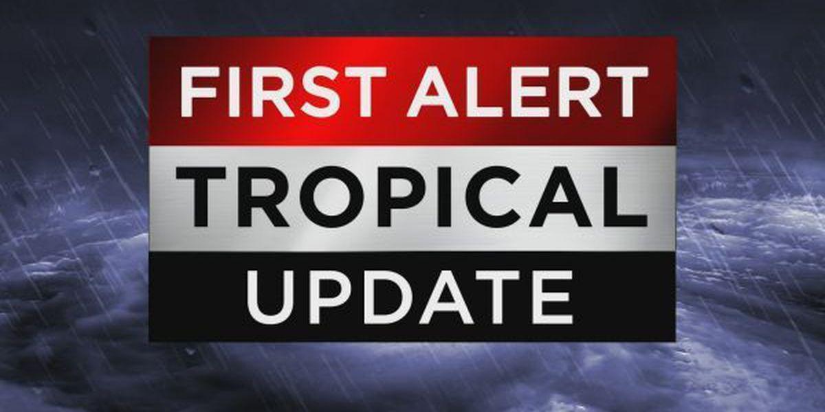 Tropical Update: Harvey weakening, Irma strengthening