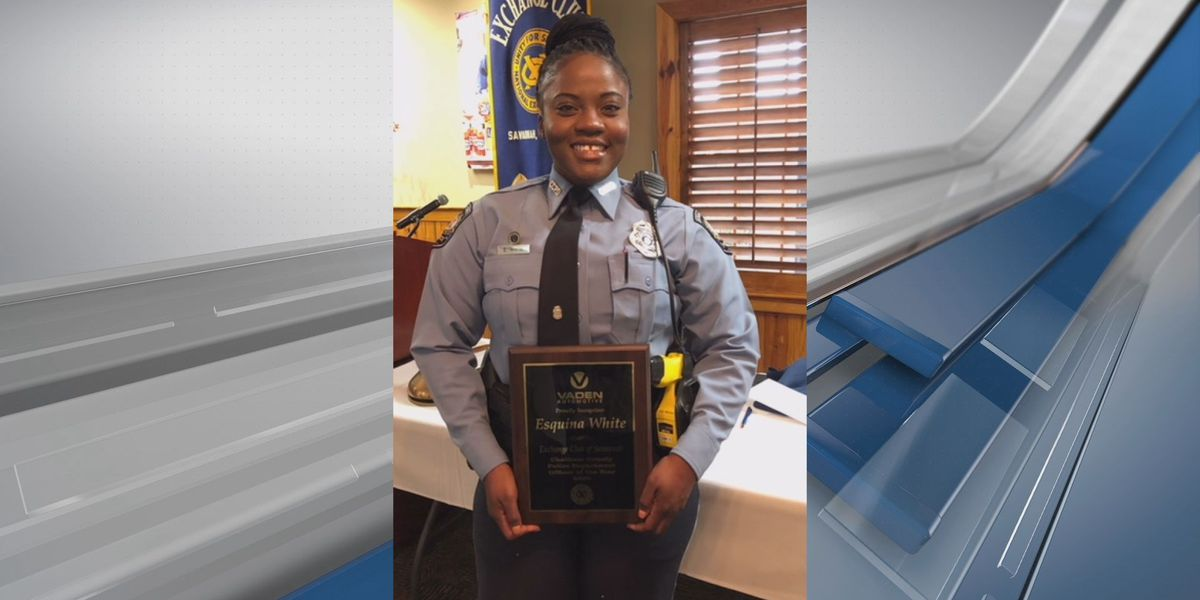 Chatham Co. officer honored with 'Officer of the Year' title by the Exchange Club of Savannah