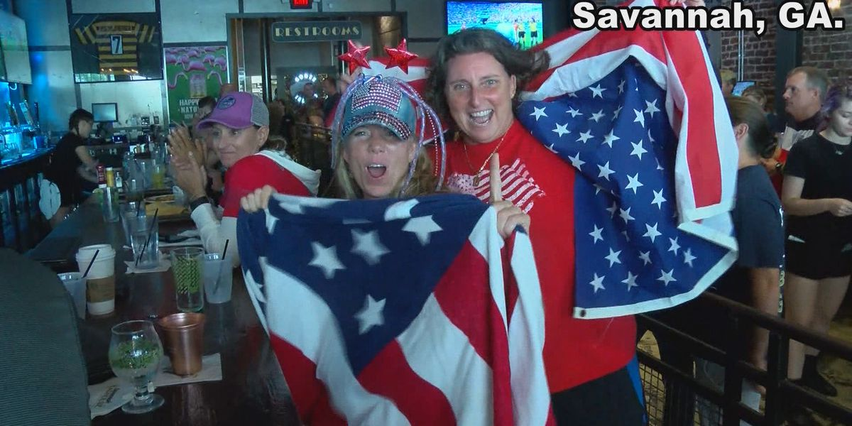 Savannah locals react to U.S. World Cup Final win