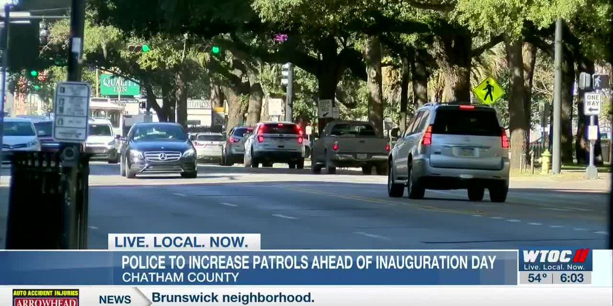 CCPD to increase patrols ahead of Inauguration Day