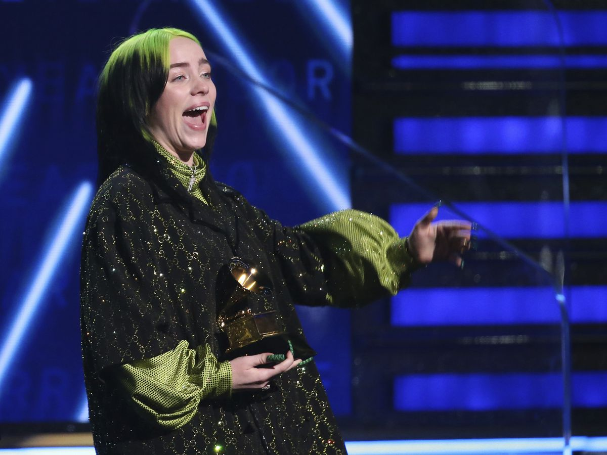 Billie Eilish wins big at Grammys as music stars pay tribute to Kobe Bryant