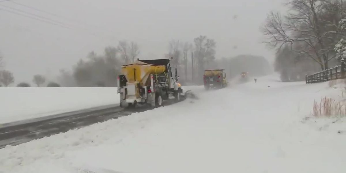 A winter storm continues to cause destruction in the Southeast