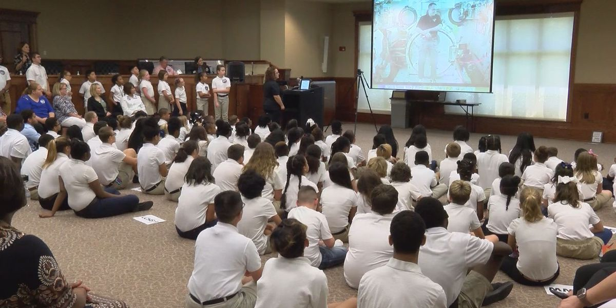 Liberty County students talk with astronaut on International Space Station