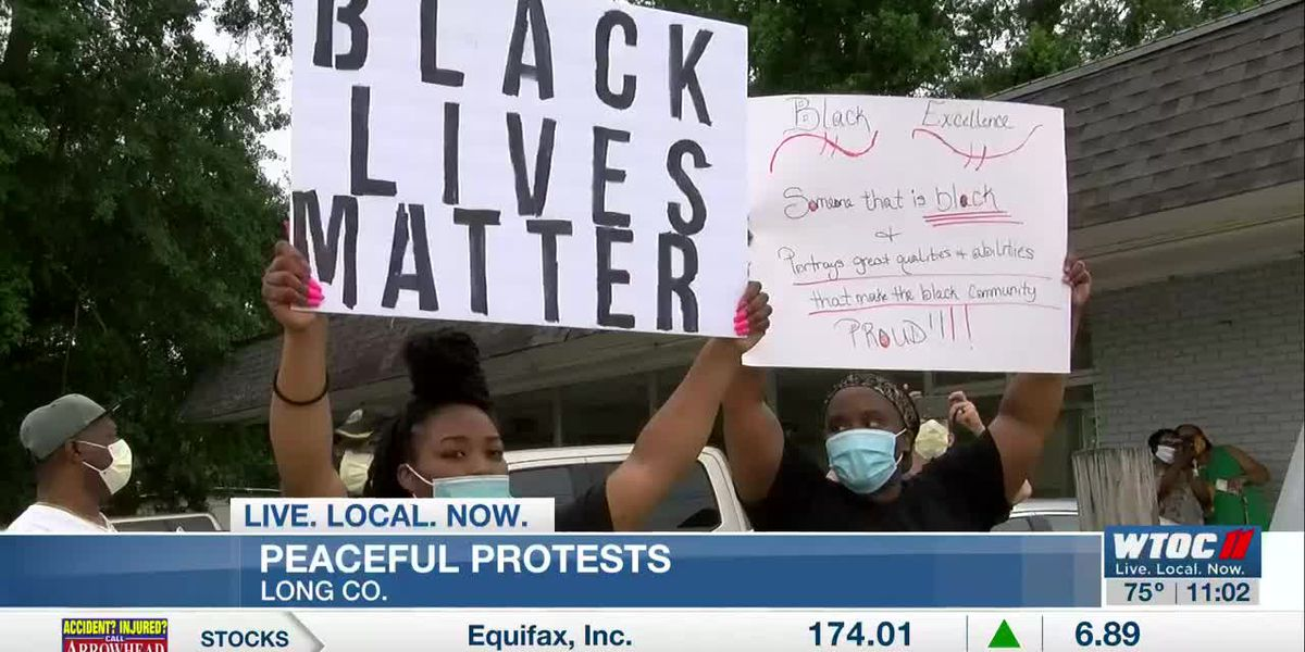 Peaceful protests bring Long Co. community together