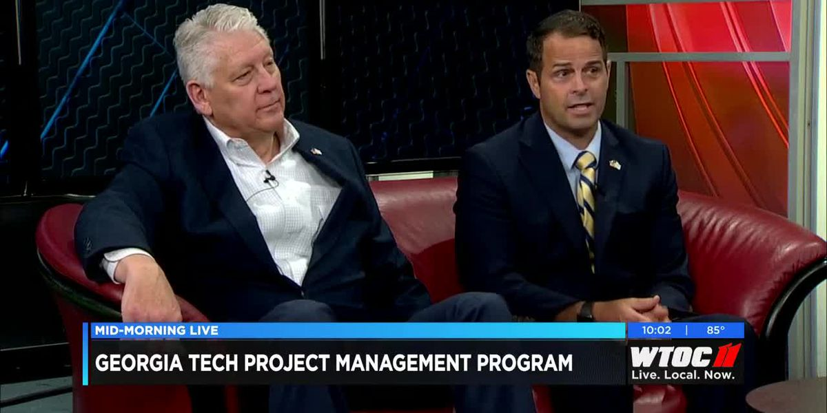 Dr. James Wilburn and Bill Astray announce Georgia Tech's new certificate program