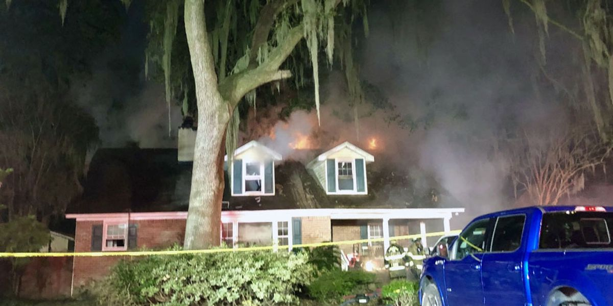 Savannah family loses home, 3 pets in overnight fire on Speir Street