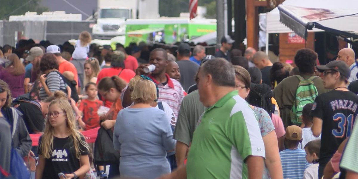 Great Ogeechee seafood festival underway in J.F. Gregory Park