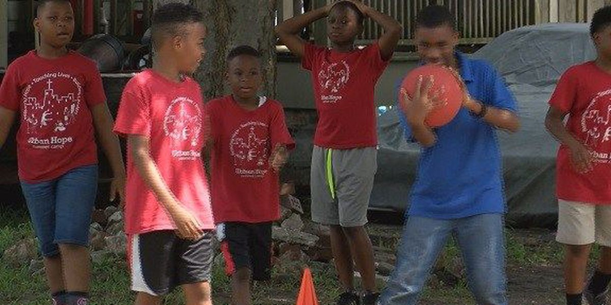 Good News: Urban Hope Summer Camp
