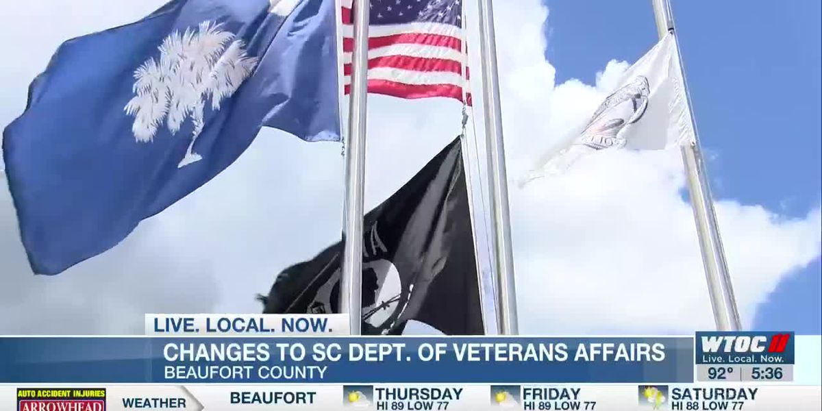 Online changes for the S.C. Department of Veterans' Affairs