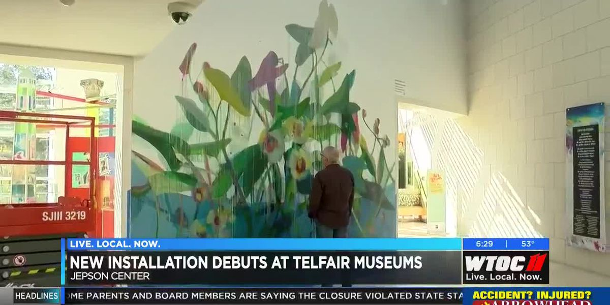 New installation debuts at Telfair Museums