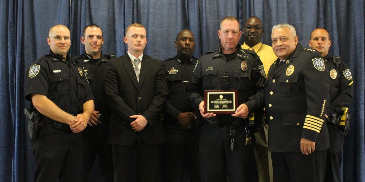 SCMPD honors officers, teamwork Wednesday night