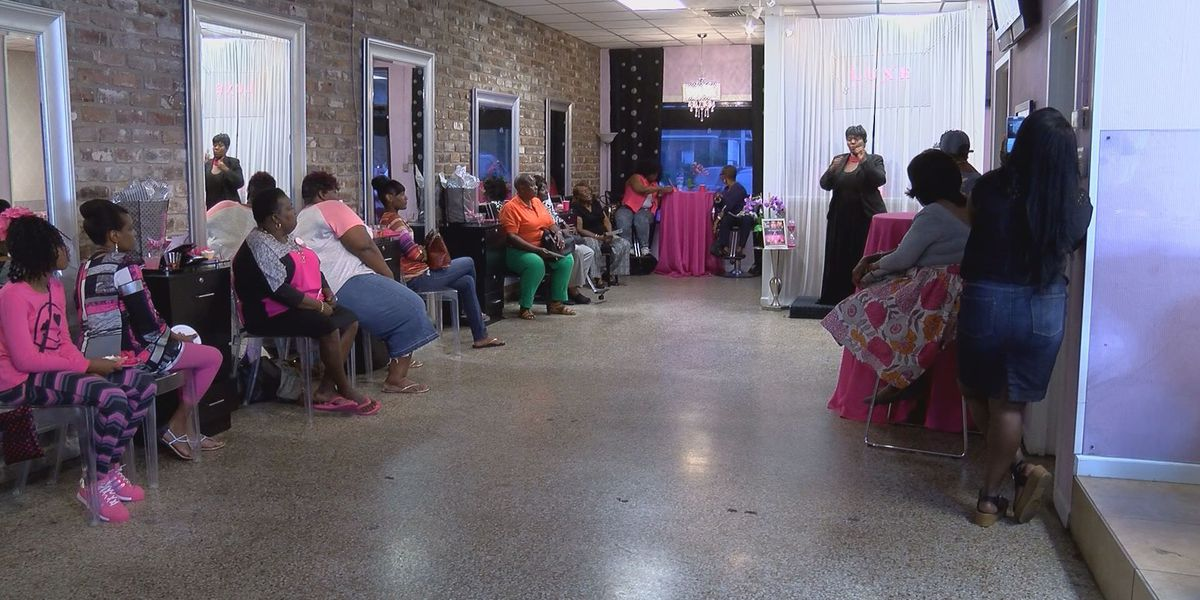 Breast cancer awareness mixer hosted by 'The Bold and the Breastless'
