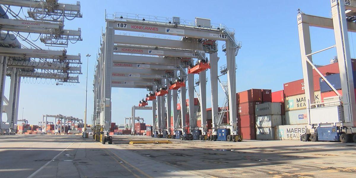Ga. senators urge removal of ship-to-shore cranes from next proposed round of China tariffs