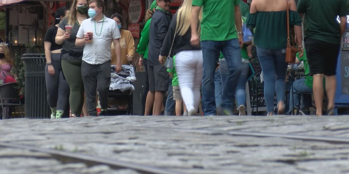 Businesses feeling pandemic impact on St. Patrick's Day