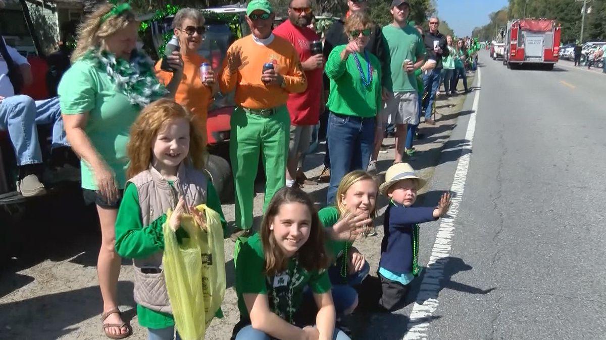 Shellman Bluff celebrates St. Patrick's Day one week later