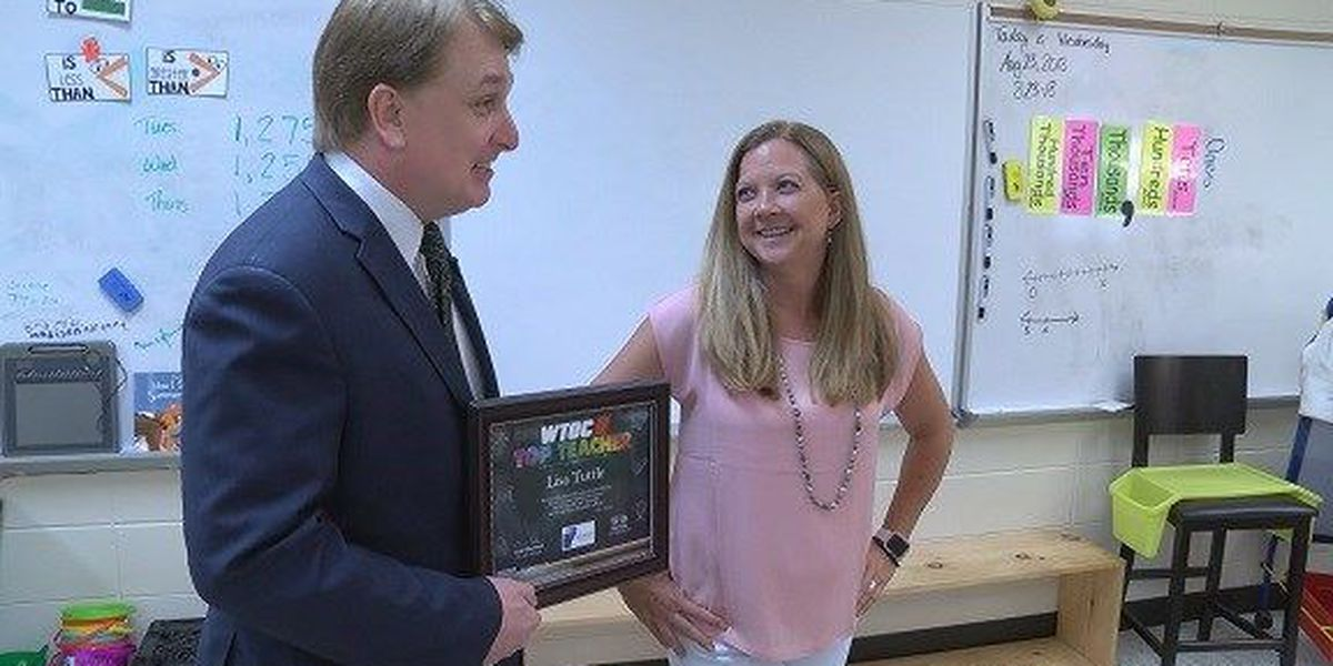Top Teacher: Lisa Tuttle, Richmond Hill Elementary School