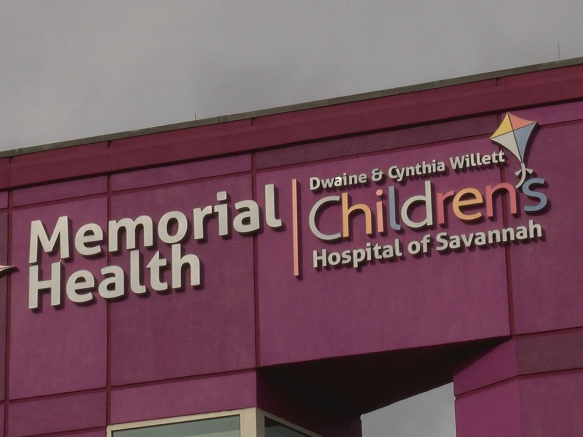 New children's hospital to open at Memorial Health in Savannah