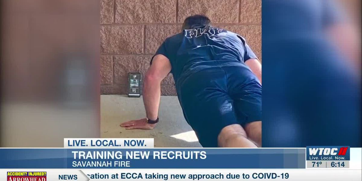 Coronavirus concerns cause training changes for firefighter recruits