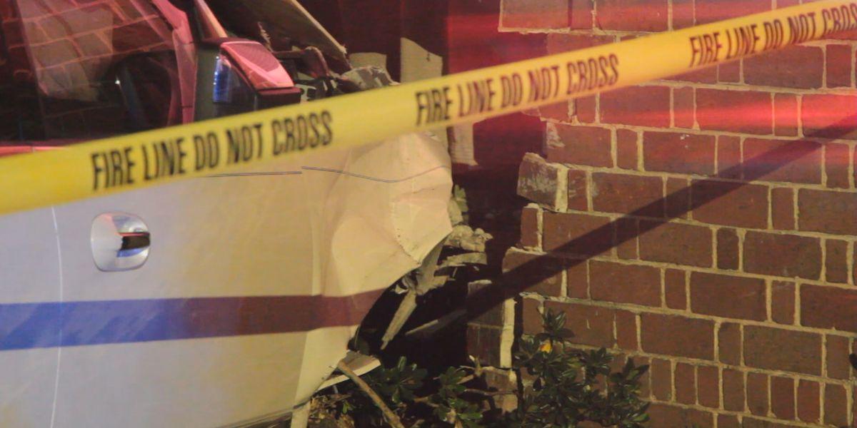 Car crashes into E. 38th Street home