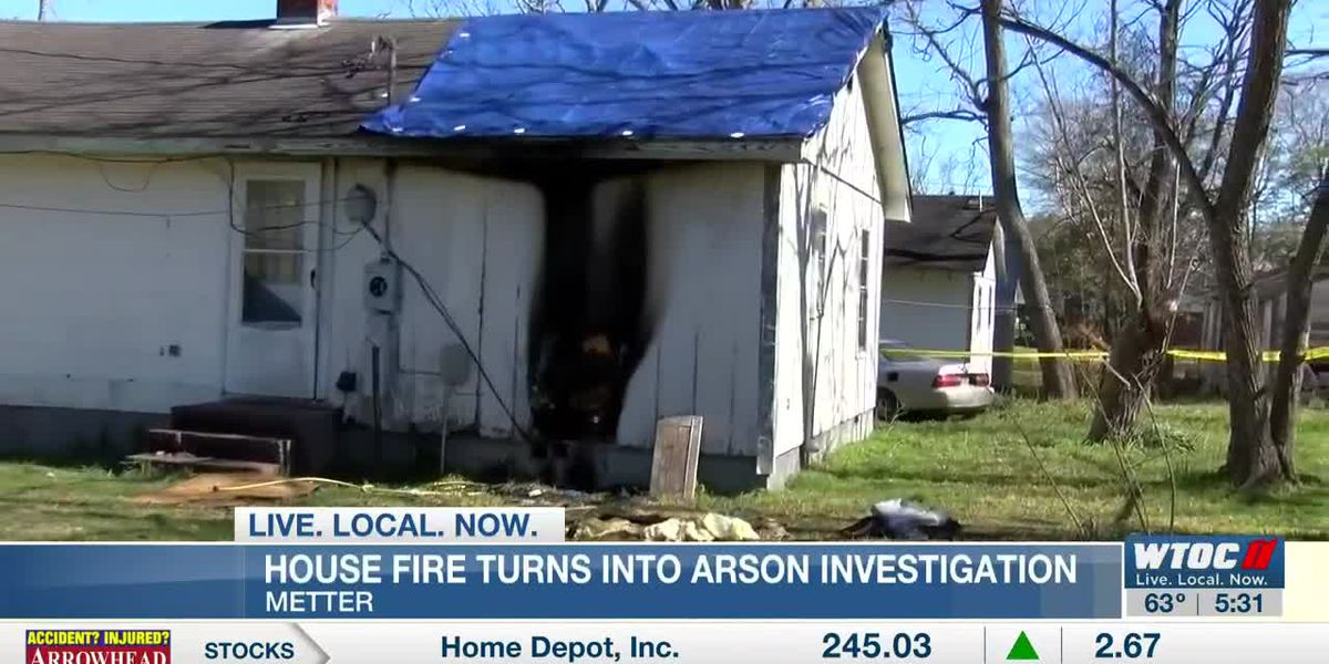 Metter house fire now an arson investigation
