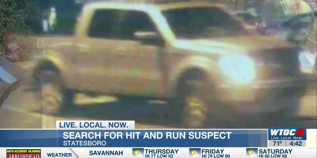 Statesboro Police searching for driver involved in hit and run
