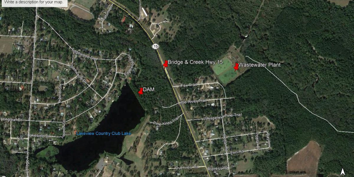 State Route 15 reopened in Blackshear, GA after dam breach issues