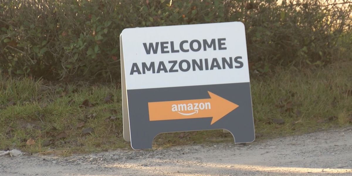 Amazon Delivery station opens in Effingham County