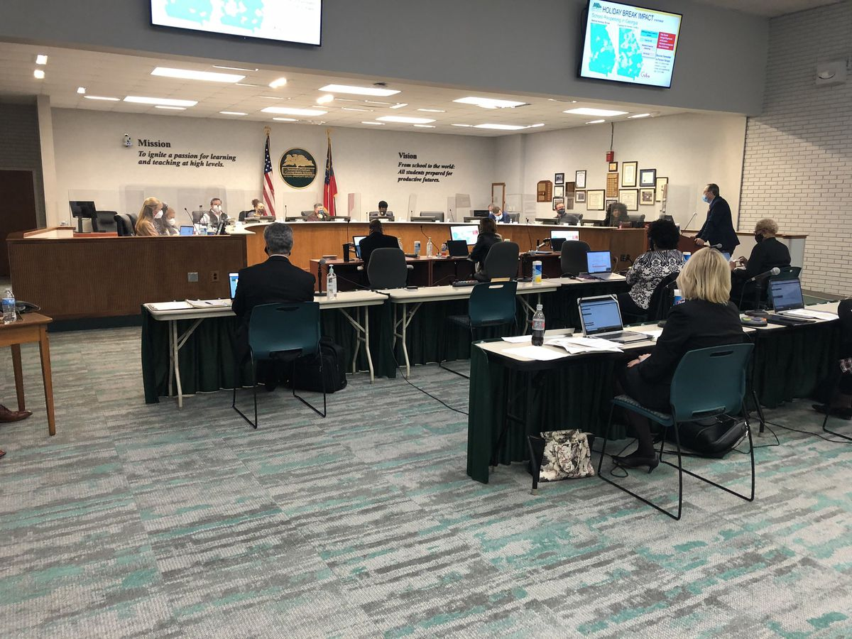 SCCPSS school board discusses COVID-19 cases among staff