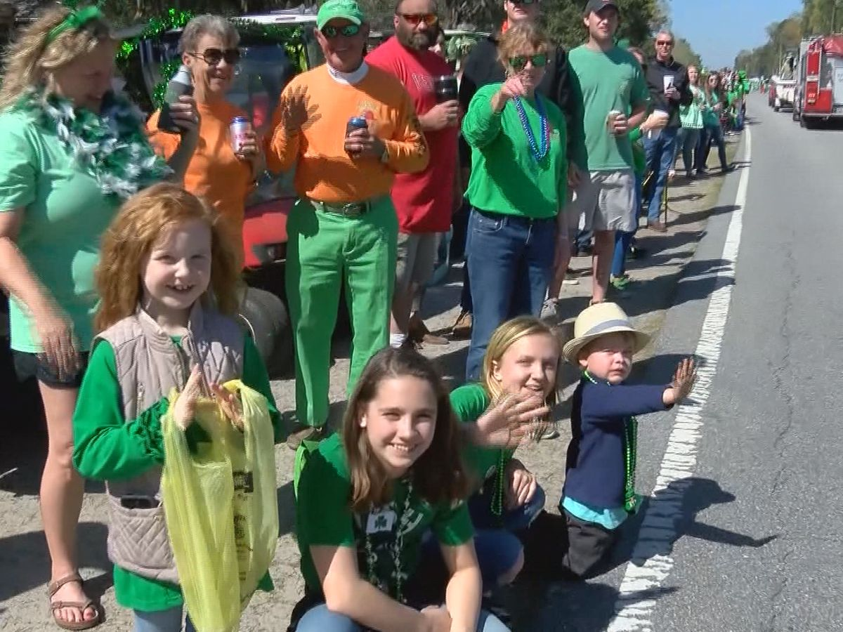 Shellman Bluff celebrates St. Patrick's Day one week later