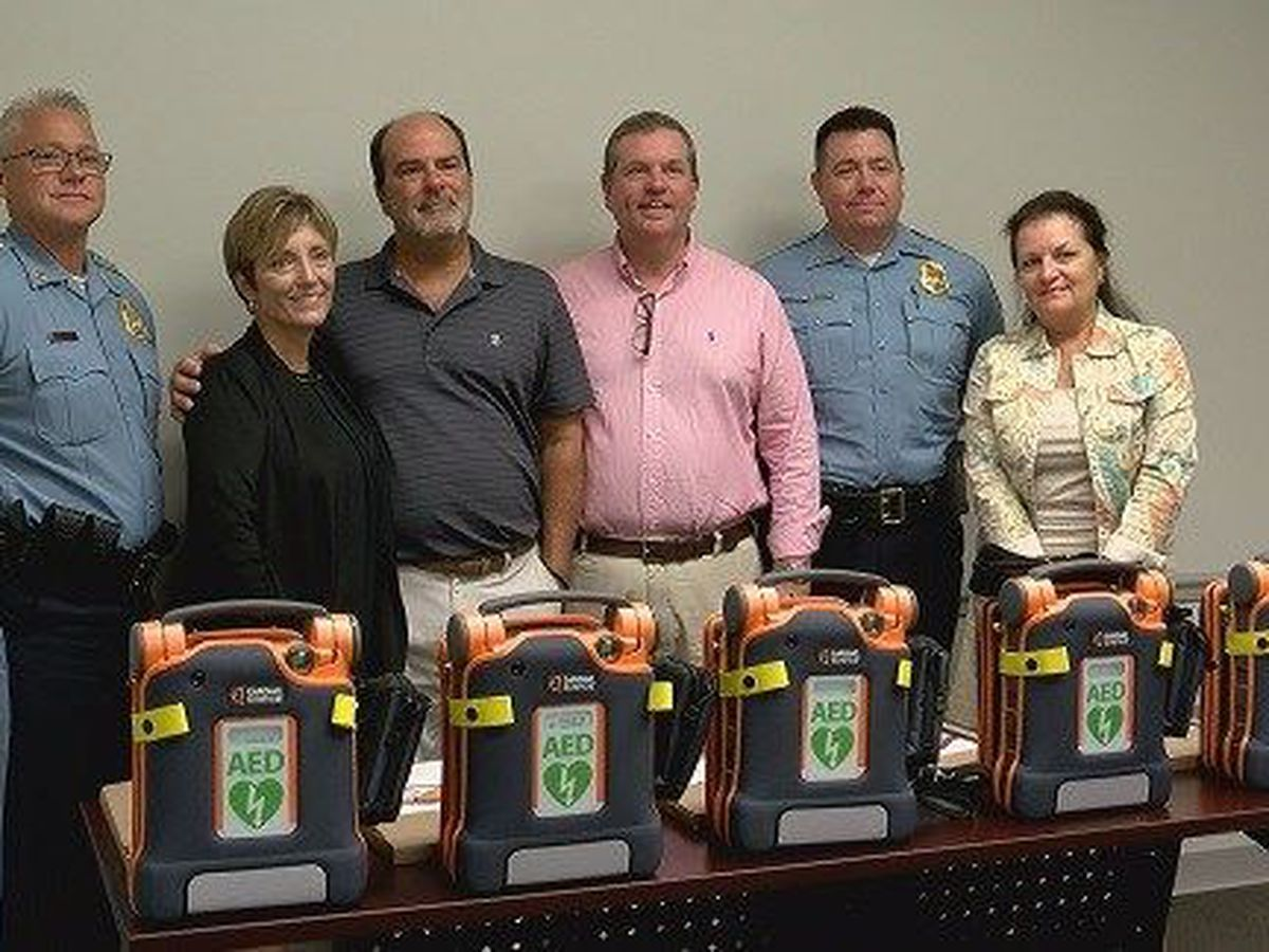 Hometown Heroes make AED donations around Chatham County