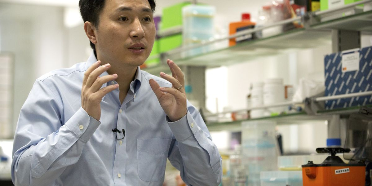 Chinese researcher claims to have made the first CRISPR-edited babies