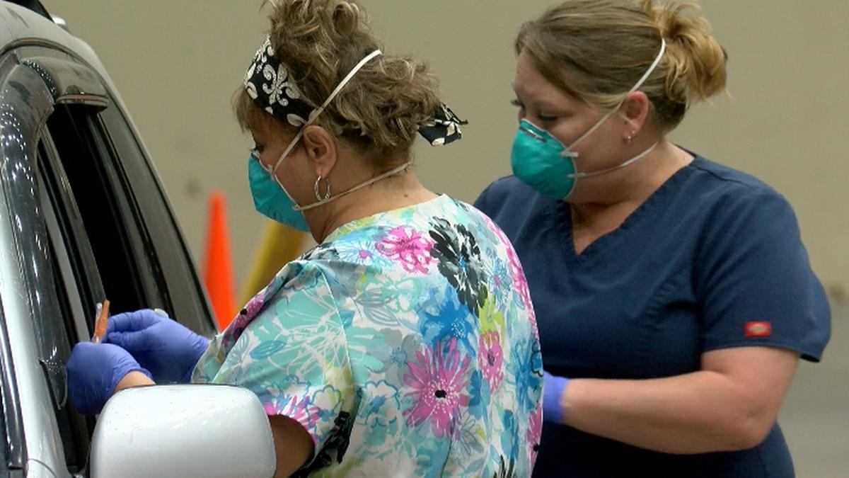 Coastal Health District holds first drive-through flu clinic