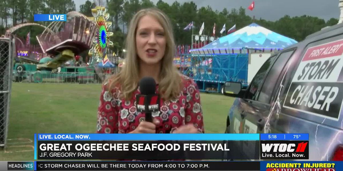 Great Ogeechee Seafood Festival underway in Richmond Hill
