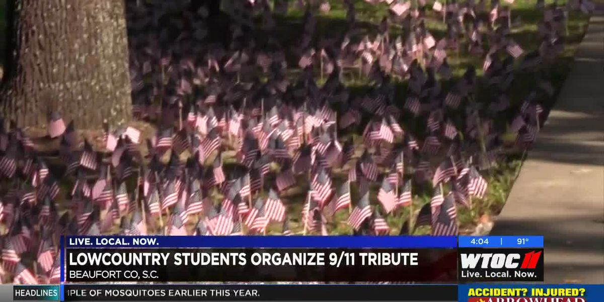 Lowcountry students organize 9/11 tribute