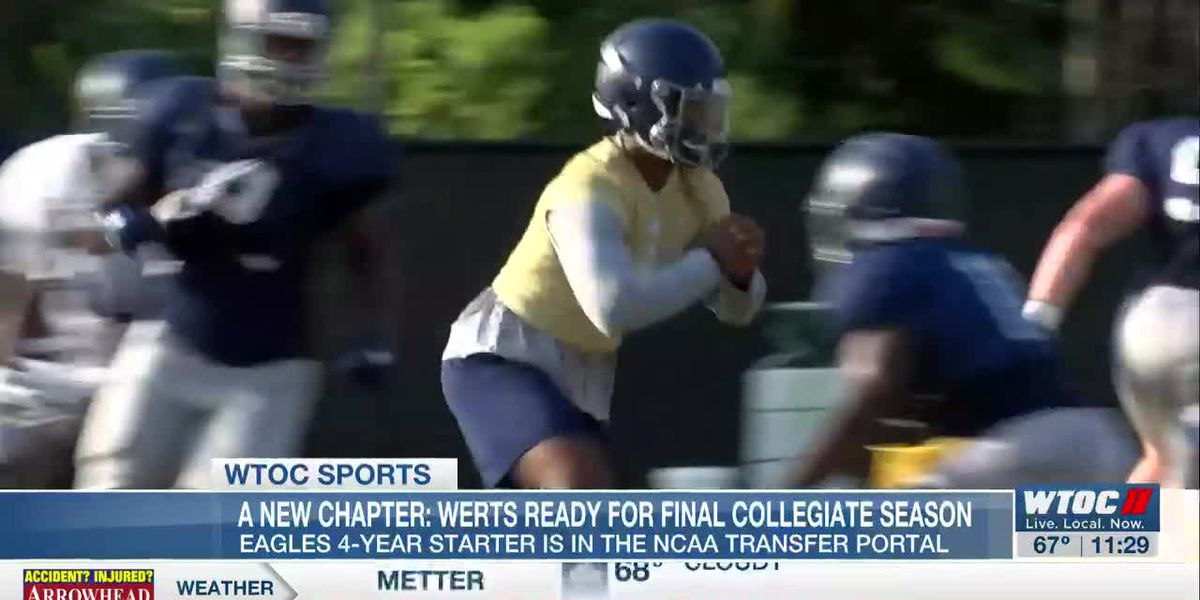 Shai Werts reflects on his Georgia Southern career, looks forward to next chapter