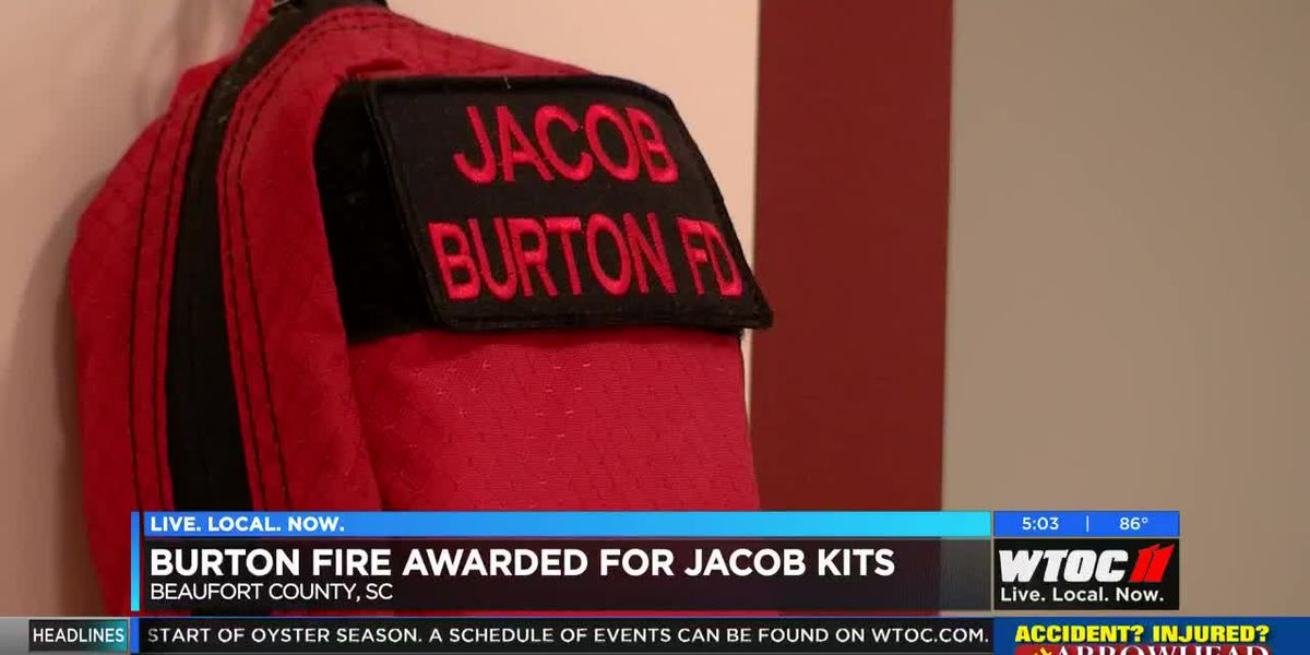 Burton Fire District awarded for Jacob Kits