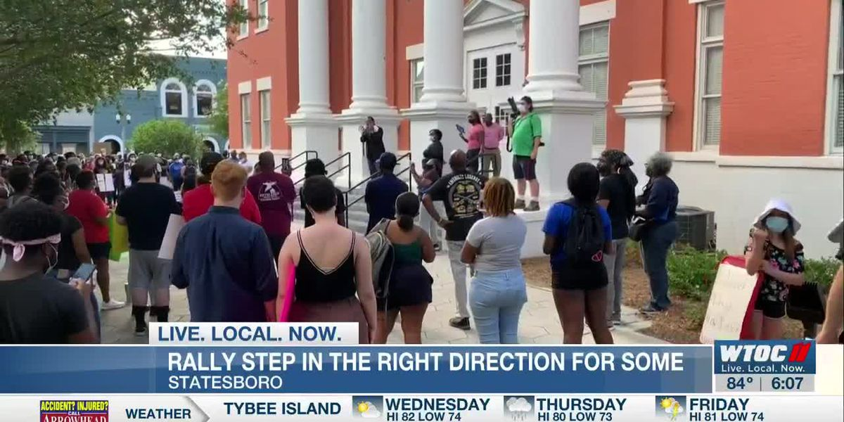Statesboro rally a step in the right direction for some