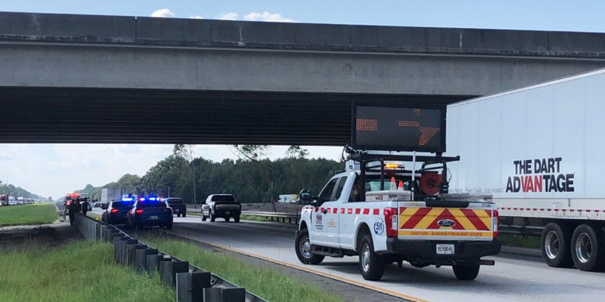 Pooler Police Department reports multiple wrecks on I-16 near Pooler Pkwy