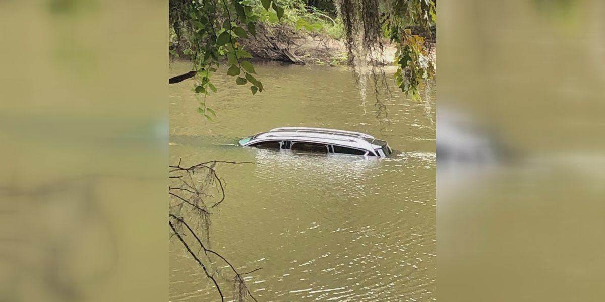 Stolen SUV found in the Ogeechee River