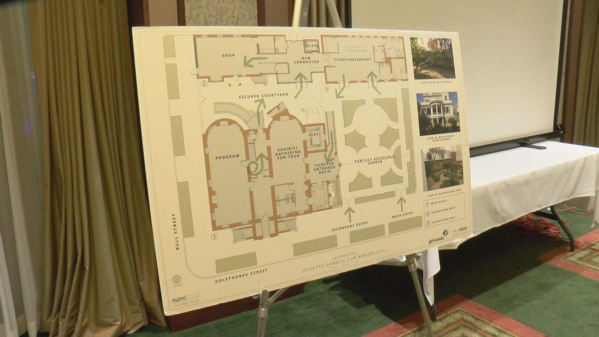 Update given on Juliette Gordon Low Birthplace renovations
