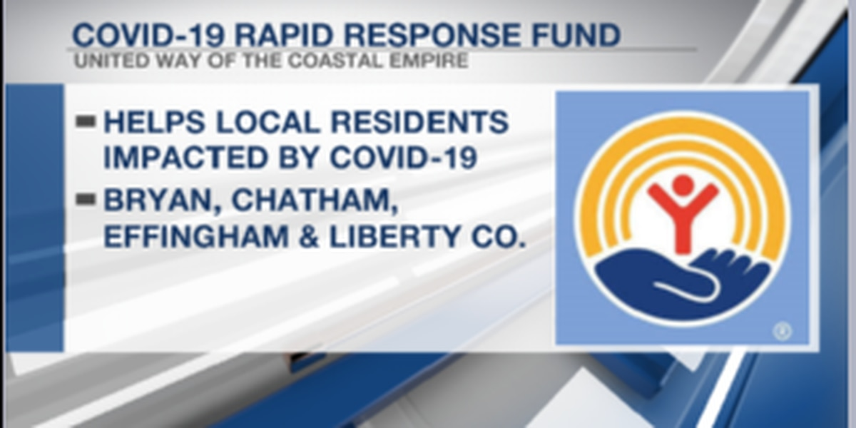 United Way of the Coastal Empire creates emergency fund in response to COVID-19