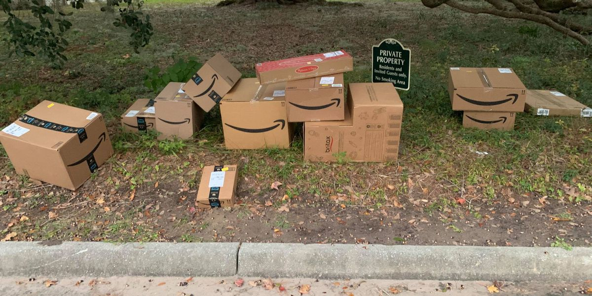 Abandoned packages find their way home thanks to Good Samaritan