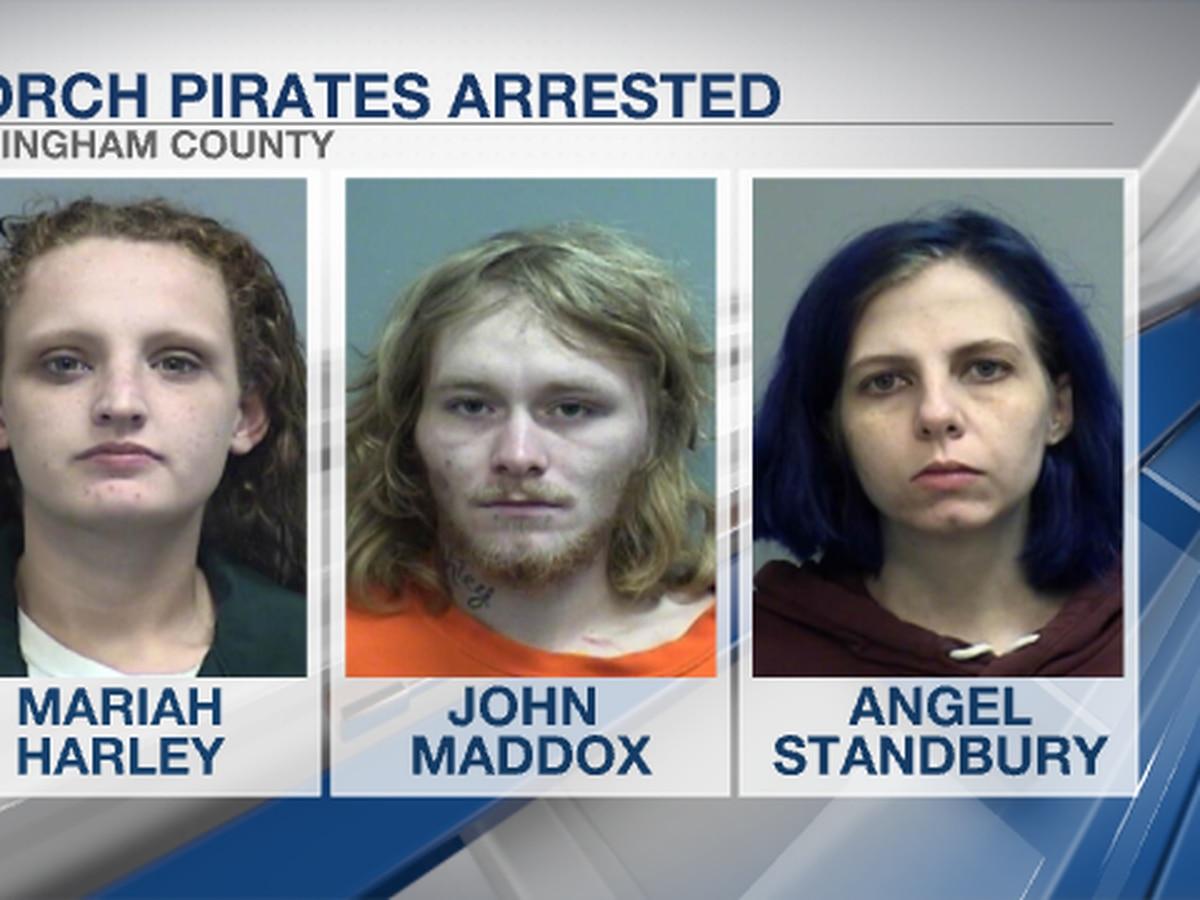 Suspects arrested after packages stolen in Effingham Co.