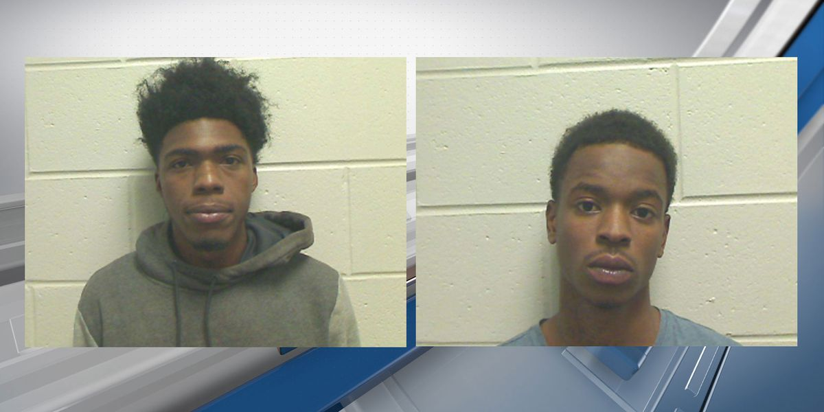 2 suspects arrested for shooting, robbery at Eagle Court Apartments on Lanier Drive