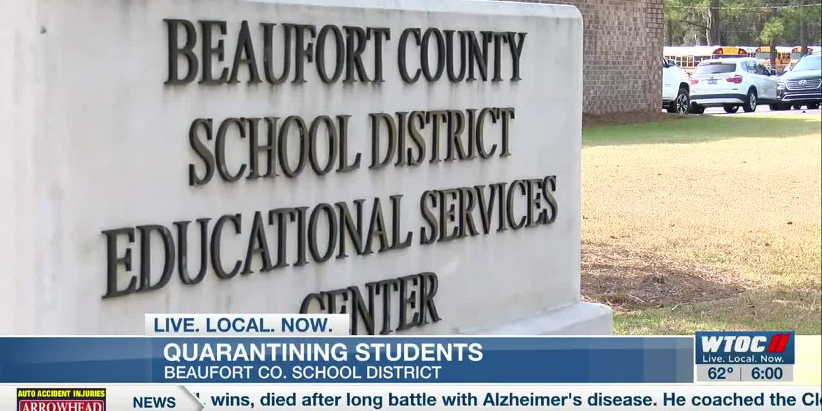 Beaufort County schools sees decrease in quarantine data from January