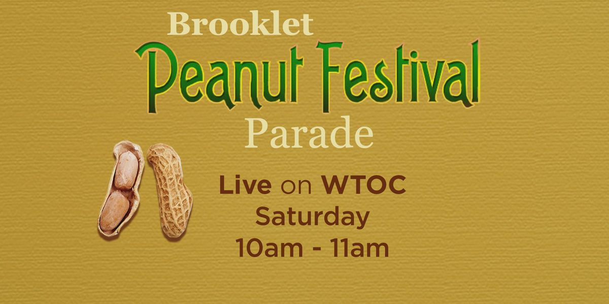 WATCH: The 2019 Brooklet Peanut Festival parade