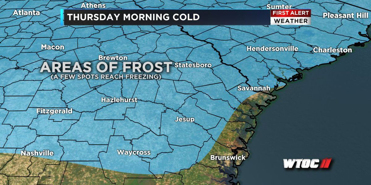 Forecast: Stretch of cold mornings continues